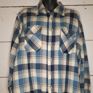 Other - Mens Country Squire Plaid Flannel Long Sleeve XL